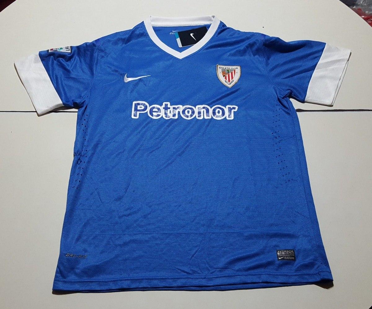 230598e74d567 Camiseta De Athletic Bilbao Marca Nike Azul