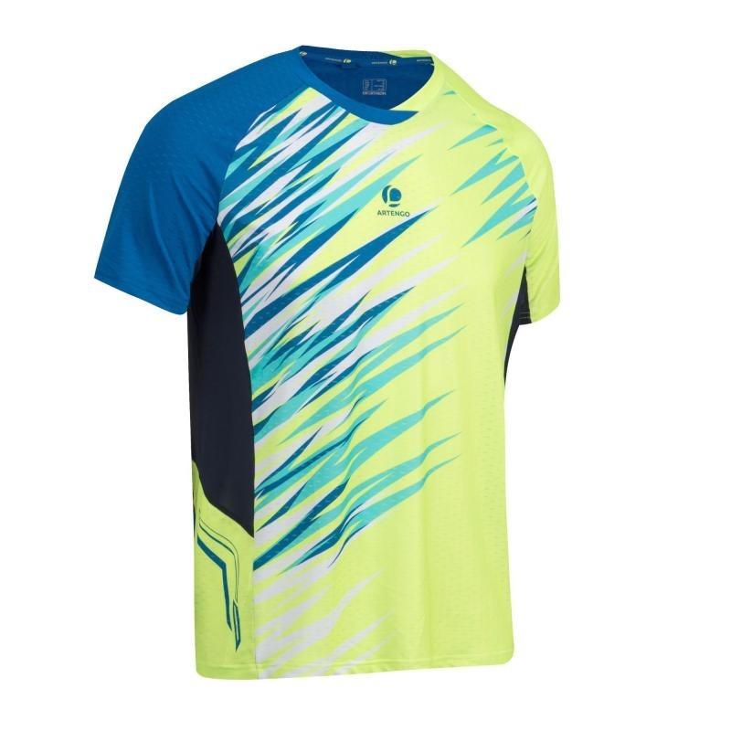 Camiseta 860 Artengo Bádminton Verde Dry Hombre Azul Y De sdQxthCr