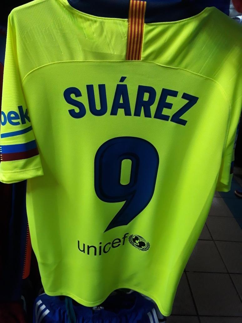 118f559fc9153 camiseta de barcelona 2019 alterna messi suarez coutinho. Cargando zoom.
