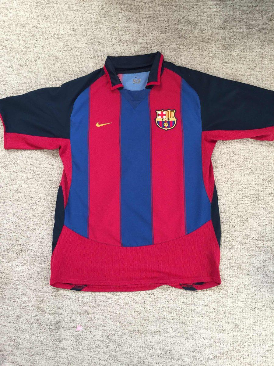 Camiseta De Barcelona Original Nike Talla M -   10.000 en Mercado Libre 617f65e6597