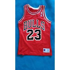 Camiseta De Basquet Chicago Bulls Jordan 23 Champion Usa