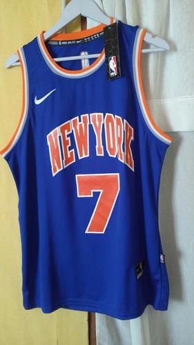 camiseta de basquet color azul new york