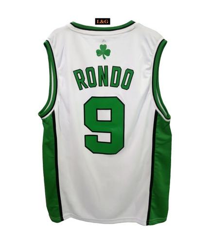 camiseta de básquet nba celtics rondon n9