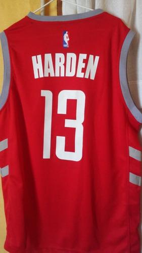 camiseta de basquet rockets (harden)