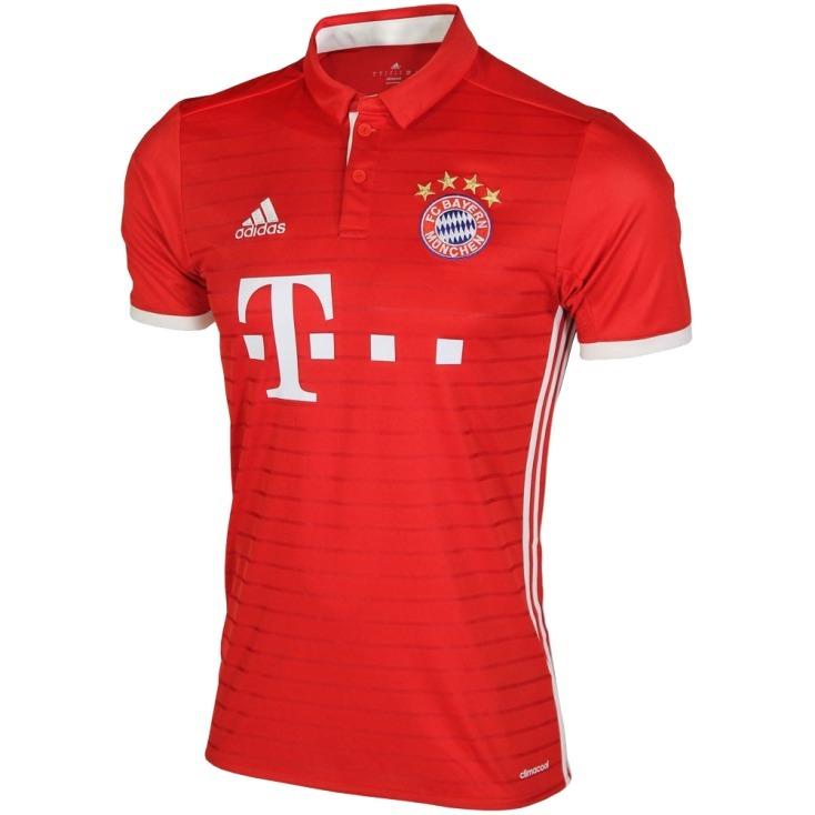 3ac3eac7fa836 Camiseta De Bayer Munich Titular adidas 2016 17 Original -   1.650 ...