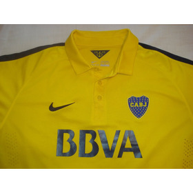 Camiseta De Boca Adulto Color Amarilla Talle Xl