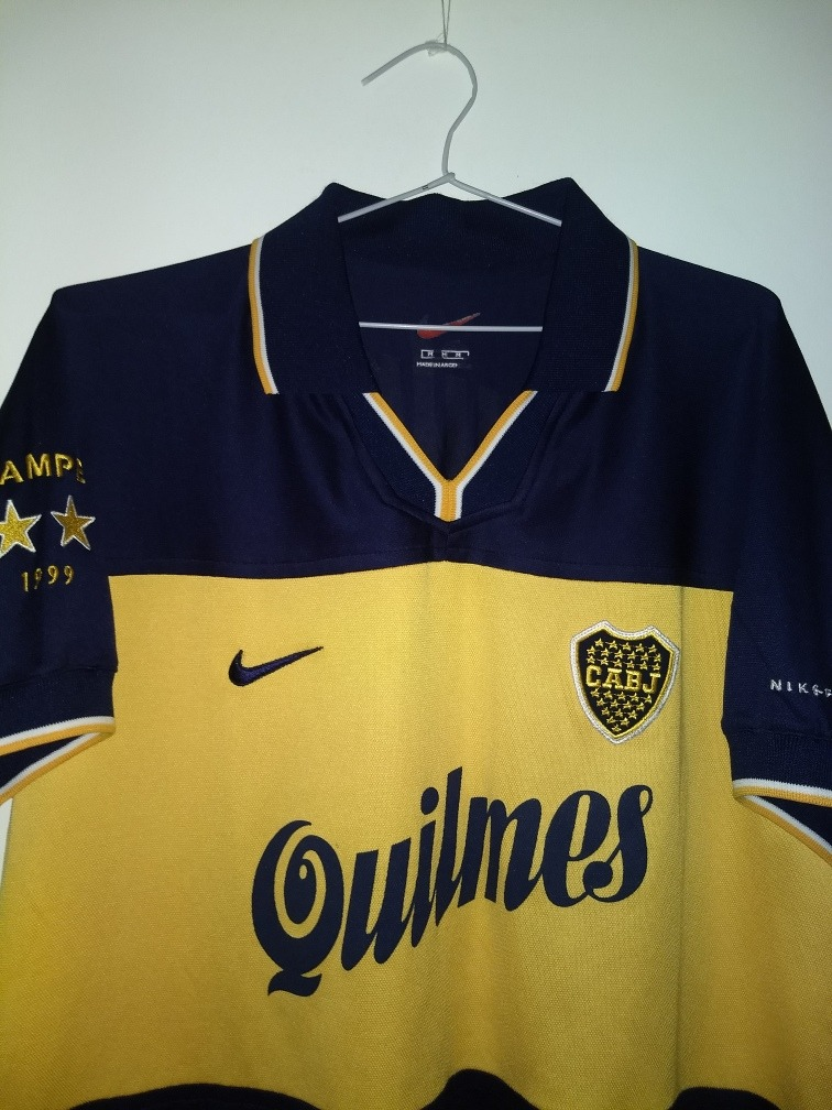 Juniors Nike 750 00 Boca De Bicampeon 1999 Impecable4 Camiseta iTOPlXkuwZ