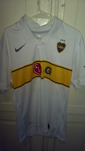 camiseta de boca juniors alternativa 2010 original
