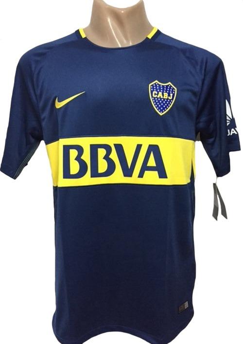 Camiseta De Boca Juniors Titular 2017-2018 Stadium -   1.999 60a74db6697f7