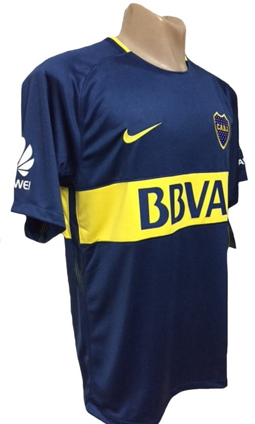 Camiseta De Boca Juniors Titular 2017-2018 Stadium -   1.999 0eb71bfe950a3