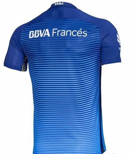 camiseta de boca suplente   2017   nike match  profesional