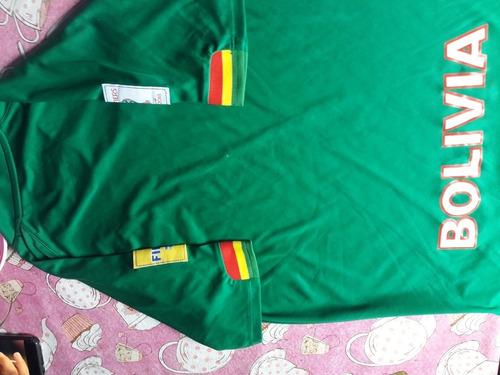 camiseta de bolivia