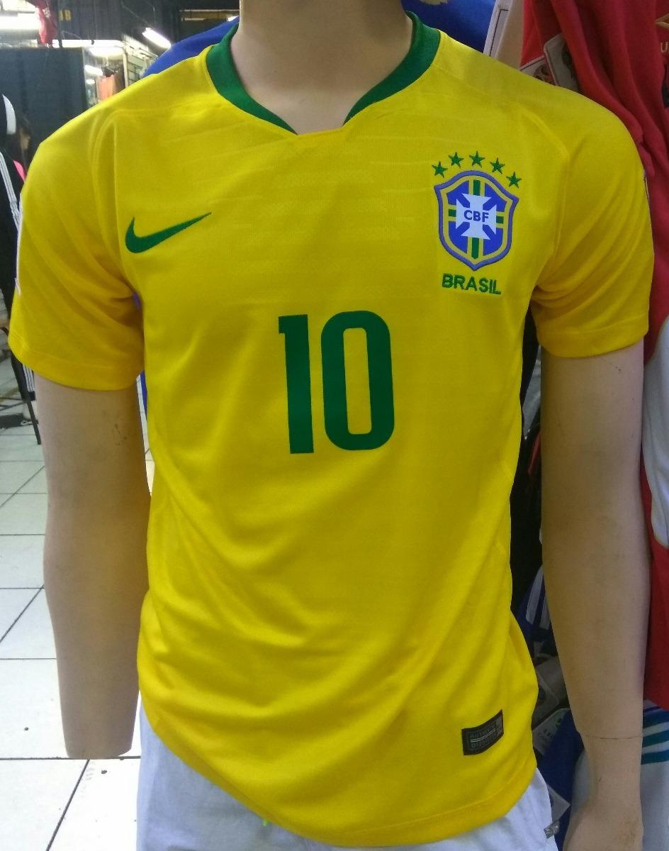camiseta de brasil - mundial rusia 2018. Cargando zoom. 2a6202582757a