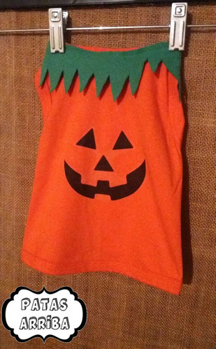 camiseta de calabaza. halloween. disfraz perro gato