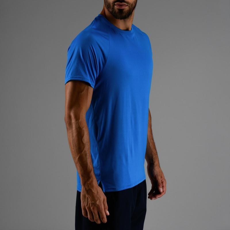 2305bc00bd8168 Camiseta De Cardio Fitness Hombre Fts 100 H Azul Domyos - $ 1.076,00 ...