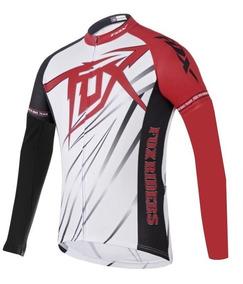 Nueva York Buenos precios real mejor valorado Camiseta De Ciclismo Fox Mtb Manga Larga