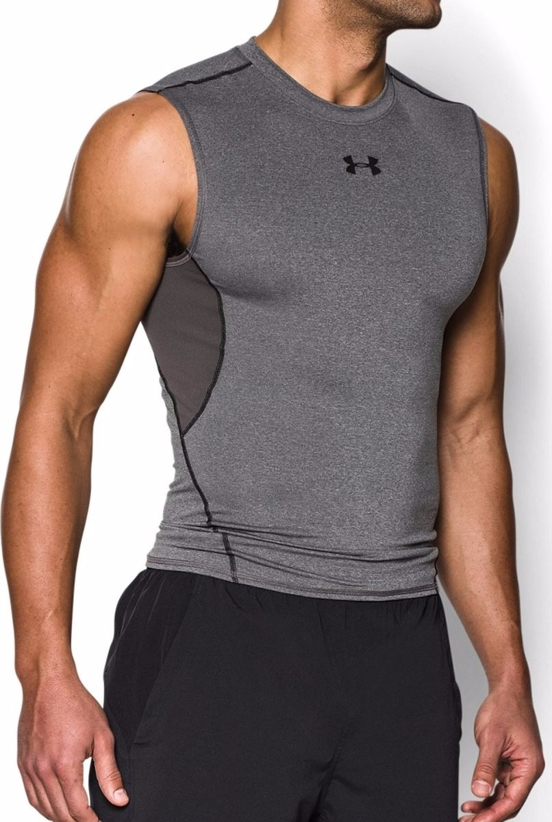 2e60d1e731942 camiseta de compresion sin mangas under armour heatgear. Cargando zoom.
