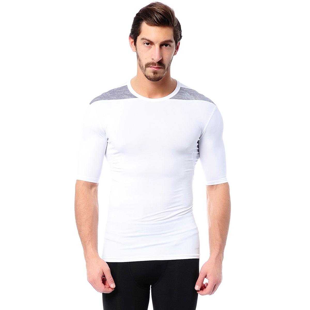 camiseta de compressão masculina adidas techfit base - adida. Carregando  zoom. 9fcfa6e4fb018