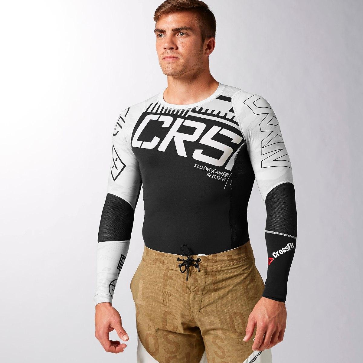 camiseta de compressão reebok crossfit large nova. Carregando zoom. a7c264eab6bbd