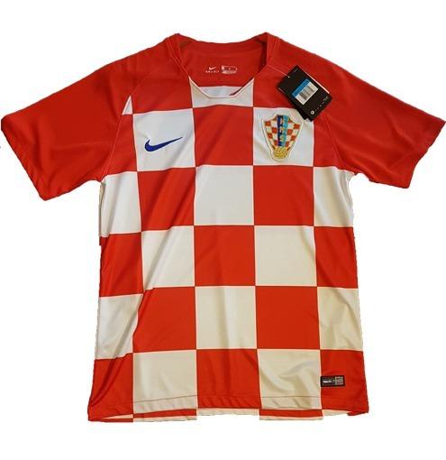 Camiseta De Croacia Titular-suplent Nike 2018 Mundial Rusia ... eaa0bd0ad72d3