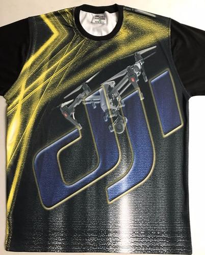 camiseta de drone - spider exclusiva