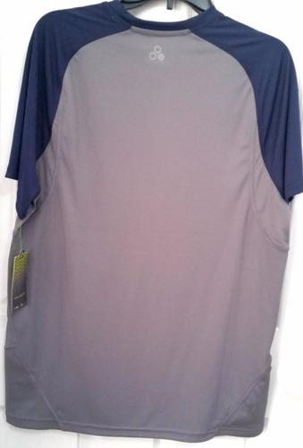 camiseta de entrenamiento tek gear 100%original