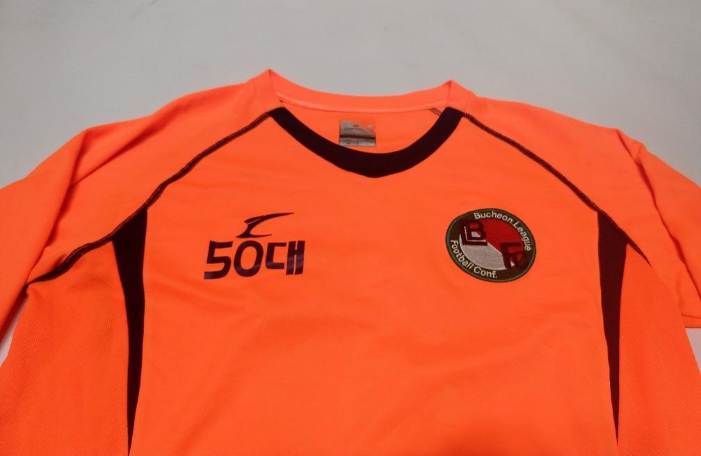 f68e64ab1 camiseta de fútbol de corea talle l naranja fluorescente. Cargando zoom.