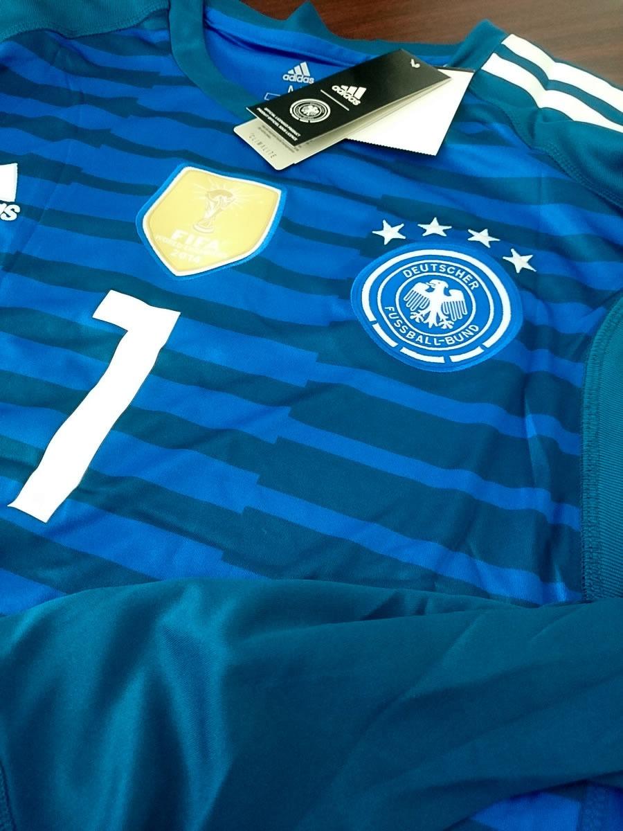 7871259b0c918 camiseta de futbol de portero de alemania. Cargando zoom.