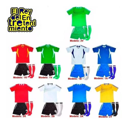 camiseta de fútbol equipo completo expert dry fit - el rey