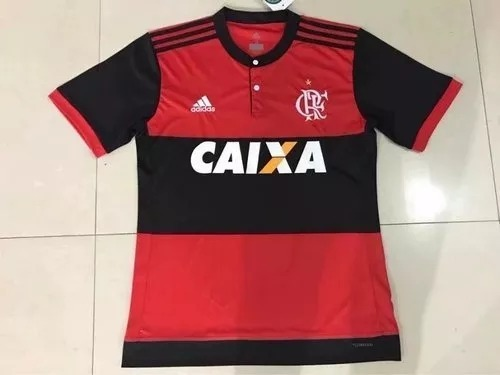 Camiseta De Fútbol Flamengo Titu 16 17 Z8 -   1.100 2d1e9c03634