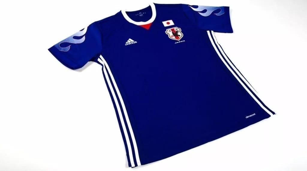 6e4aaaaa7811c Camiseta De Fútbol Japón Titular 2017 -   850