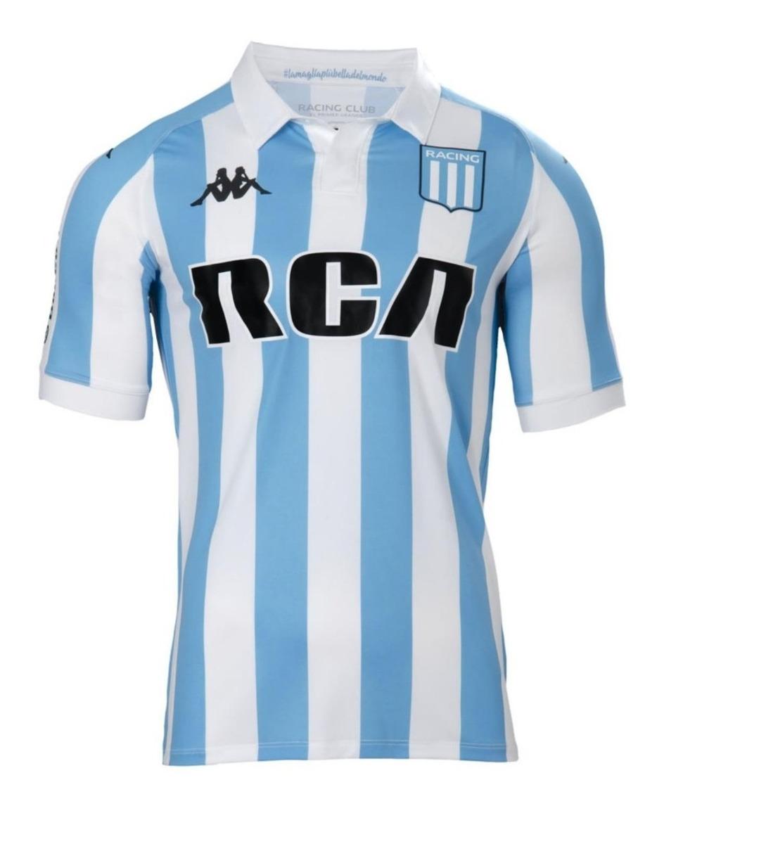 4a9f032a1 Camiseta De Fútbol Kappa Racing Club Oficial 18-19 - $ 2.199,00 en ...