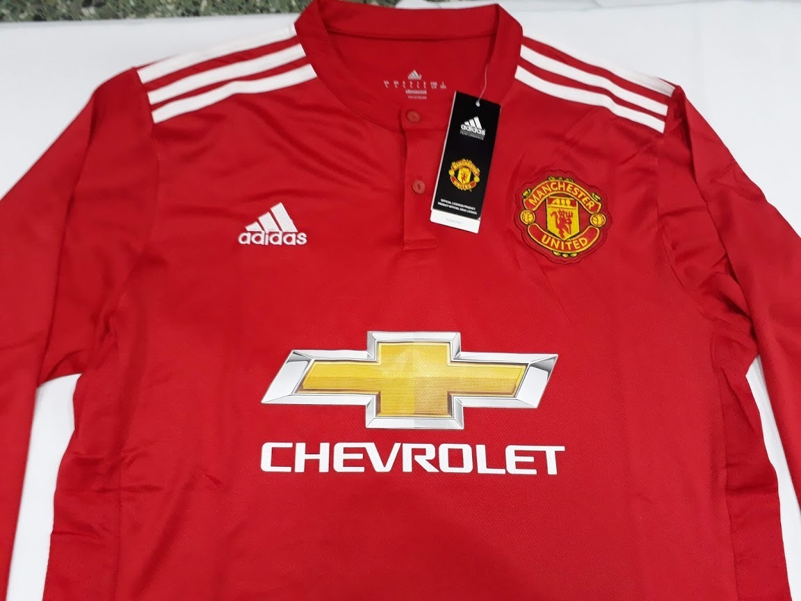 a7d9729f792dd Camiseta De Fútbol Manchester United Titu 17 18 O3 -   1.095