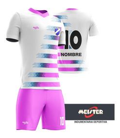 mejor lugar precios de liquidación precio de calle Camiseta De Fútbol + Short Personalizado Femenino