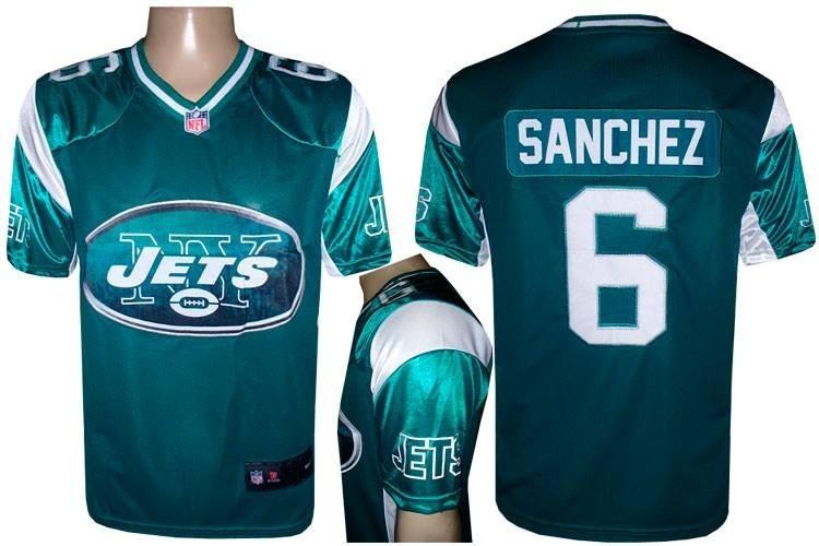 a1ac3d50a Camiseta De Futebol Americano Ny Jets Sanchez Nfl Camisa - R  138