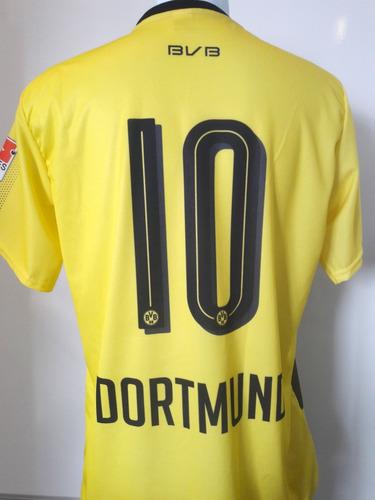 f85ef6f0a5 Camiseta De Futebol Borussia Dortmund Amarela Super Barato - R  24 ...