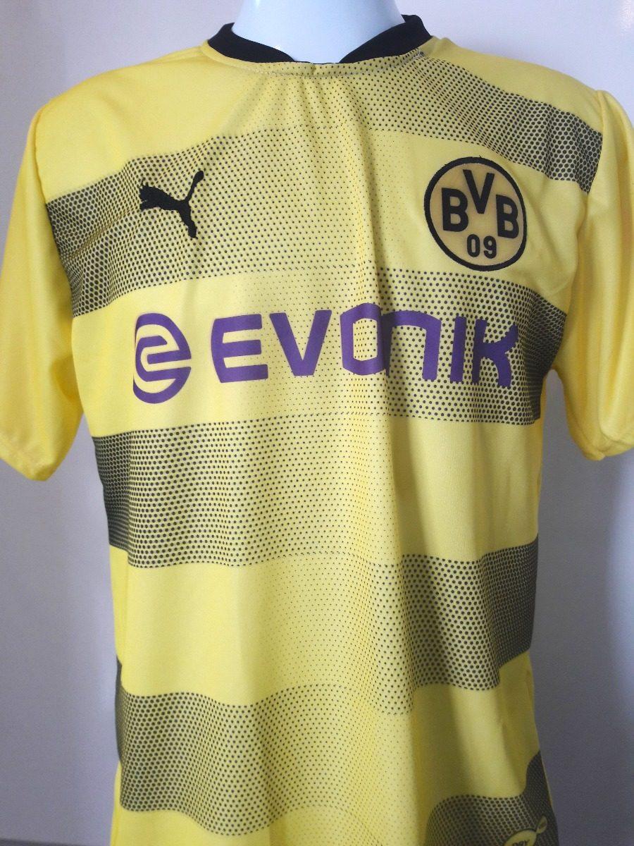 84d20cd915 camiseta de futebol borussia dortmund amarela super barato. Carregando zoom.