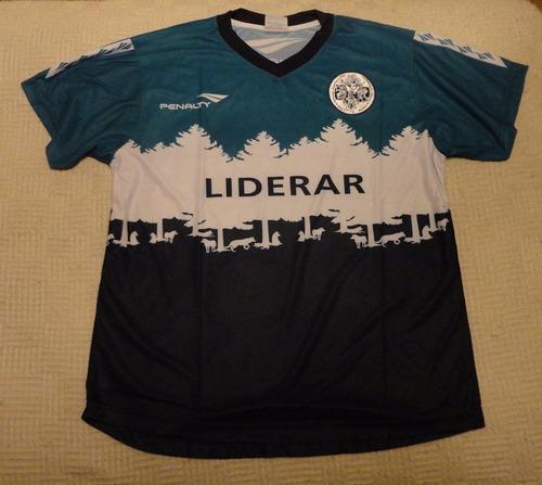 camiseta de gimnasia gelp bosque marca penalty, talle s