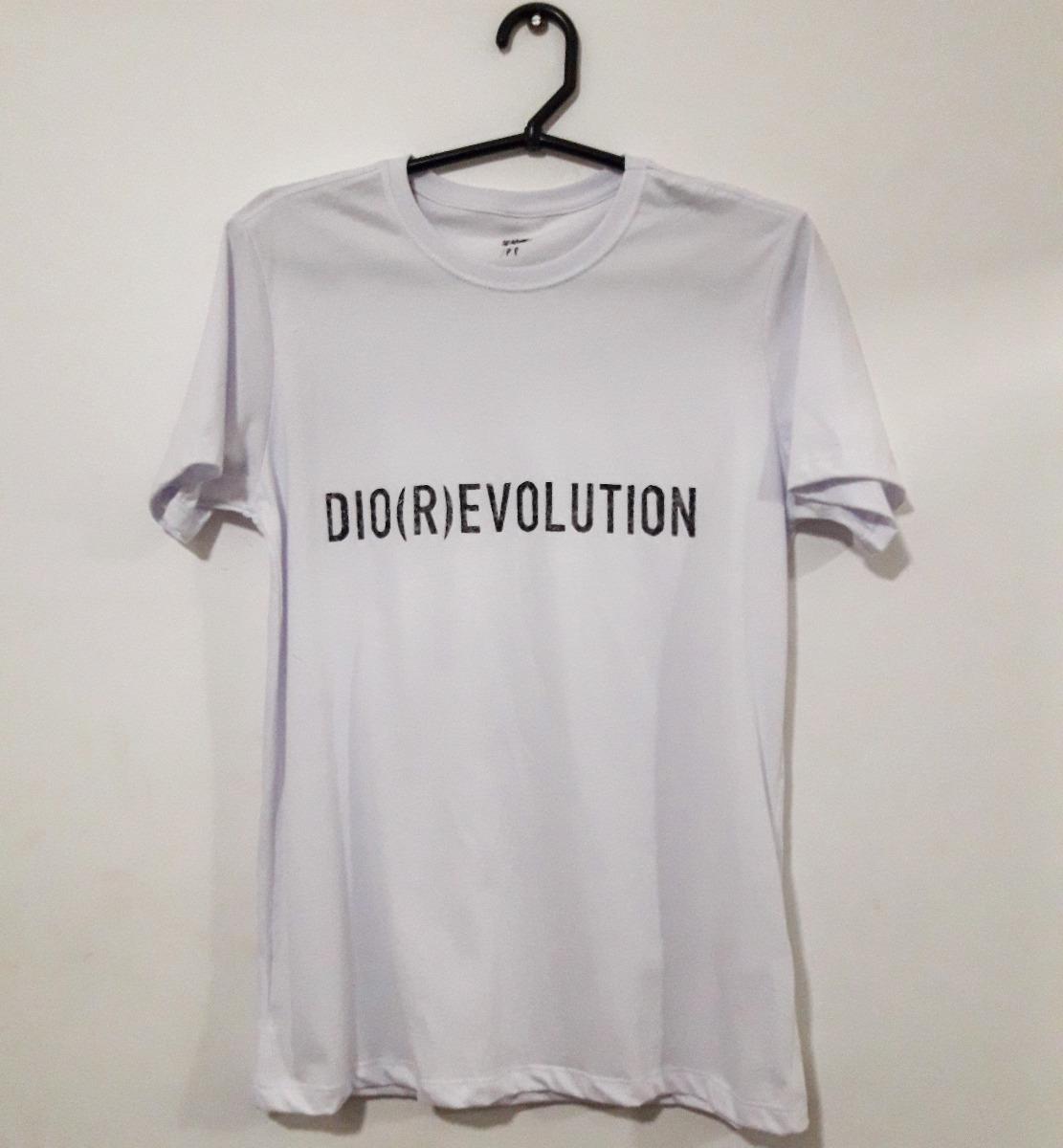 Camiseta De Grife Dior Evolution Christian Dior - R  77 7a6f9ef7803