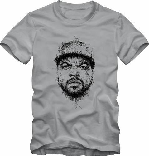 camiseta de hip hop rap camisa ice cube + brinde