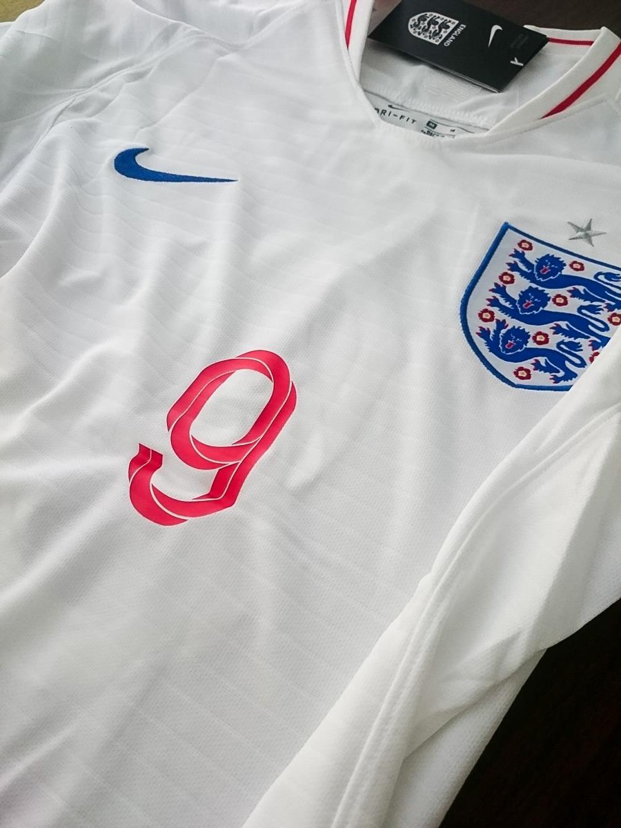 Camiseta De Inglaterra De Harry Kane (mundial Rusia 2018) - ¢ 30,000.00 en Mercado Libre