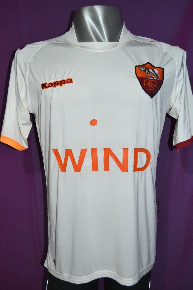 camiseta de la roma kappa blanca. talle m. Cargando zoom. e203cc5805f37