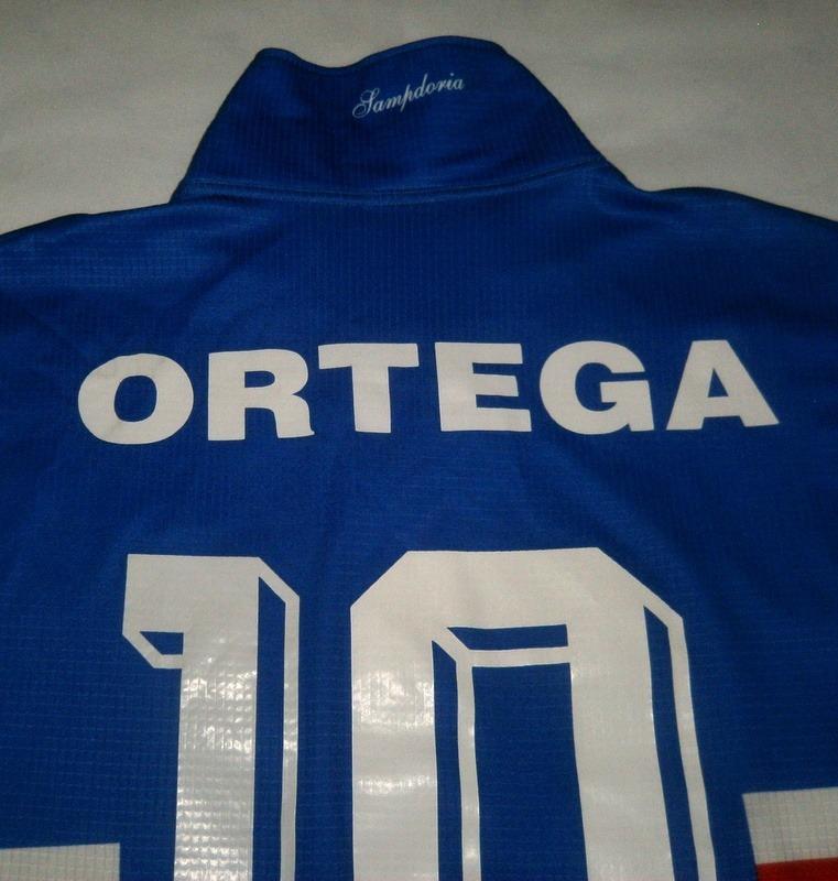 camiseta de la sampdoria asics  10 ortega talle xl. Cargando zoom. 3973a7cffe1dd