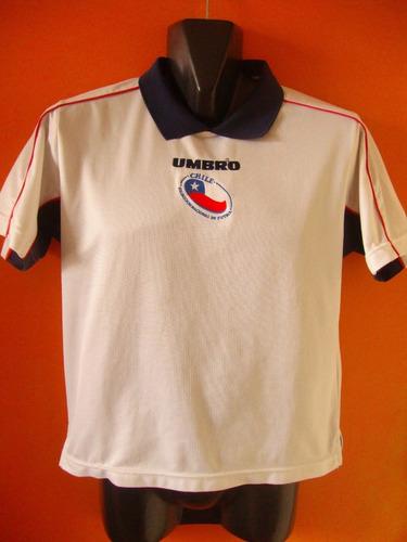 camiseta de la selección chilena, ivan zamorano, talla 12.
