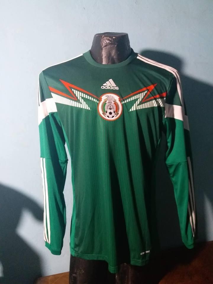 camiseta de la seleccion de mexico 2014 mundial brasil adida. Cargando zoom. bb887f14716d2