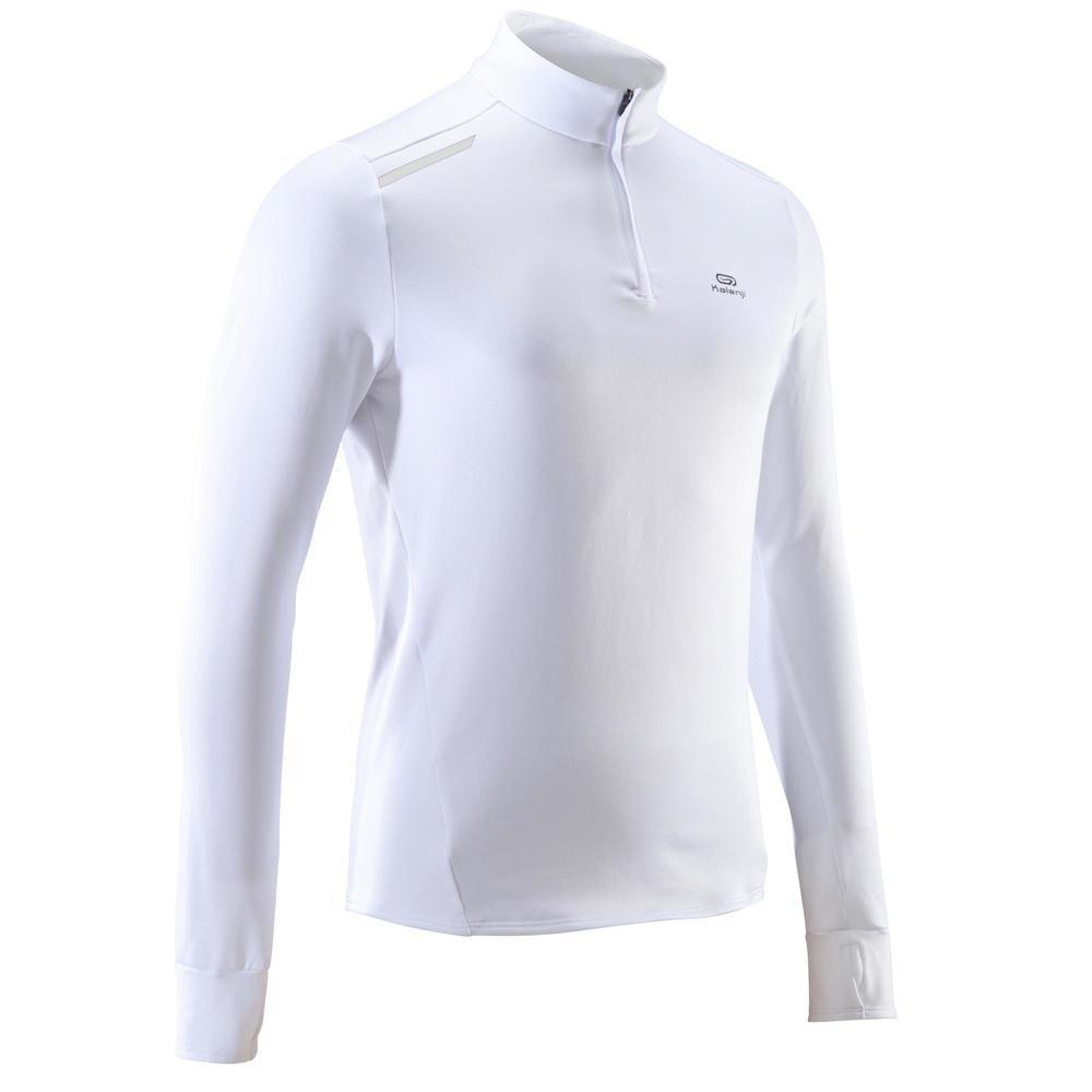 fec9fa7a7ab69 camiseta de manga larga running hombre run warm blanco. Cargando zoom.