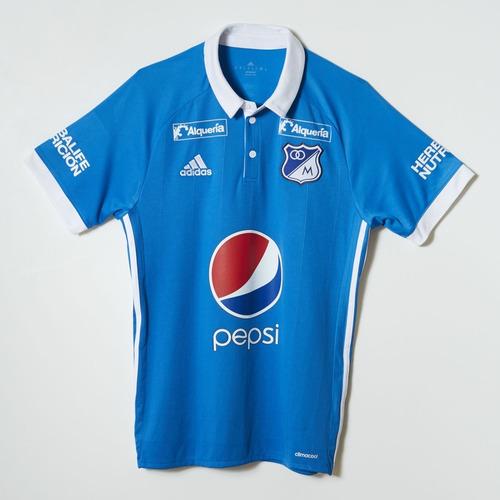 camiseta de millonarios de colombia adidas 2017/18