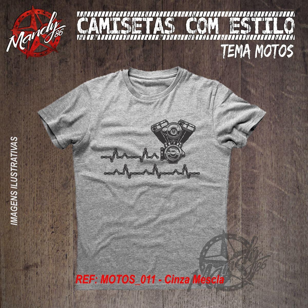 4f1fe2dd2016d Camiseta De Motos Ref 011 - Amor Por 2 Rodas - Motociclismo - R  44 ...