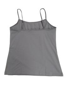 Jill Gris Camiseta Mujer Tank Finos Con Tirantes De ALq43Rj5