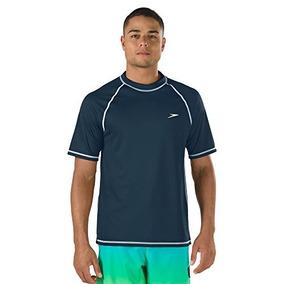 705a3368df57 Camiseta De Natación Rashguard De Manga Corta Para Hombre